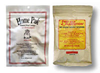 Old Plantation Hot Italian Sausage Seasoning Kit.  Enough seasoning and natural hog casings for 20 - 25 lbs. of meat.