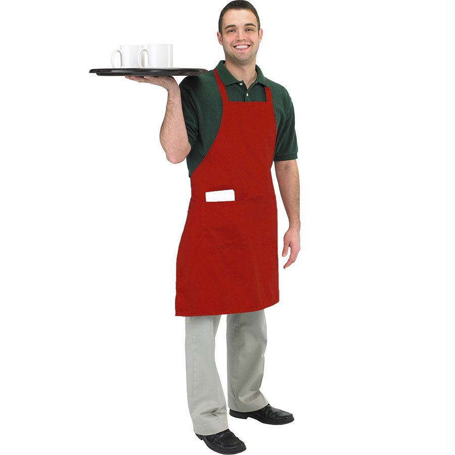 Red Butcher/BBQ Apron