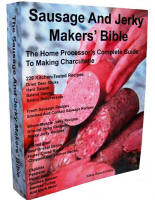 Sausage and Jerky Maker's Bible.  544 Pages Long