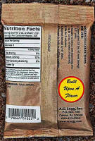 Nutrition Label for AC Legg Number 10 Seasoning