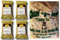 AC Legg Bratwurst Kit for 100 lbs. of Meat.  Seasoning, Natural Hog Casings and Brief Instructions included.