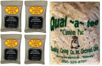 AC Legg #10 Sausage Kit for 100 lbs. of Meat.  Contains Seasoning, Natural Hog Casings and Brief Instructions.