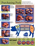 "This glossy 8"" by 10"" chart is the same as our ""Purchasing Pork"" poster."